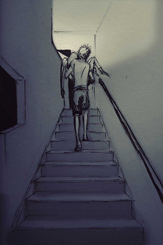 Curtis-Wiklund-desenhos-Jordin-amor-casal-romance-minha bela adormecida