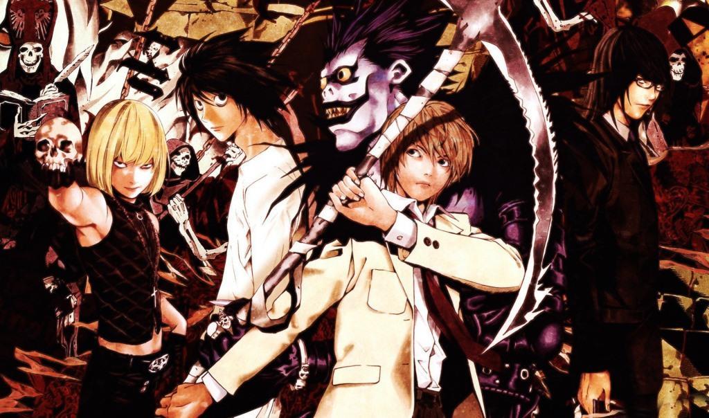 death note tsugumi ohba takshi obata manga anime arte filme netflix (5)