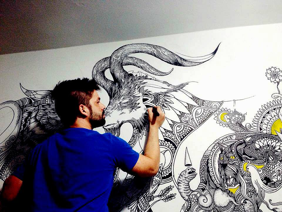 ezekiel-moura-ilustre-z-graffiti-mural-ilustração-preto-e-branco-magia-13