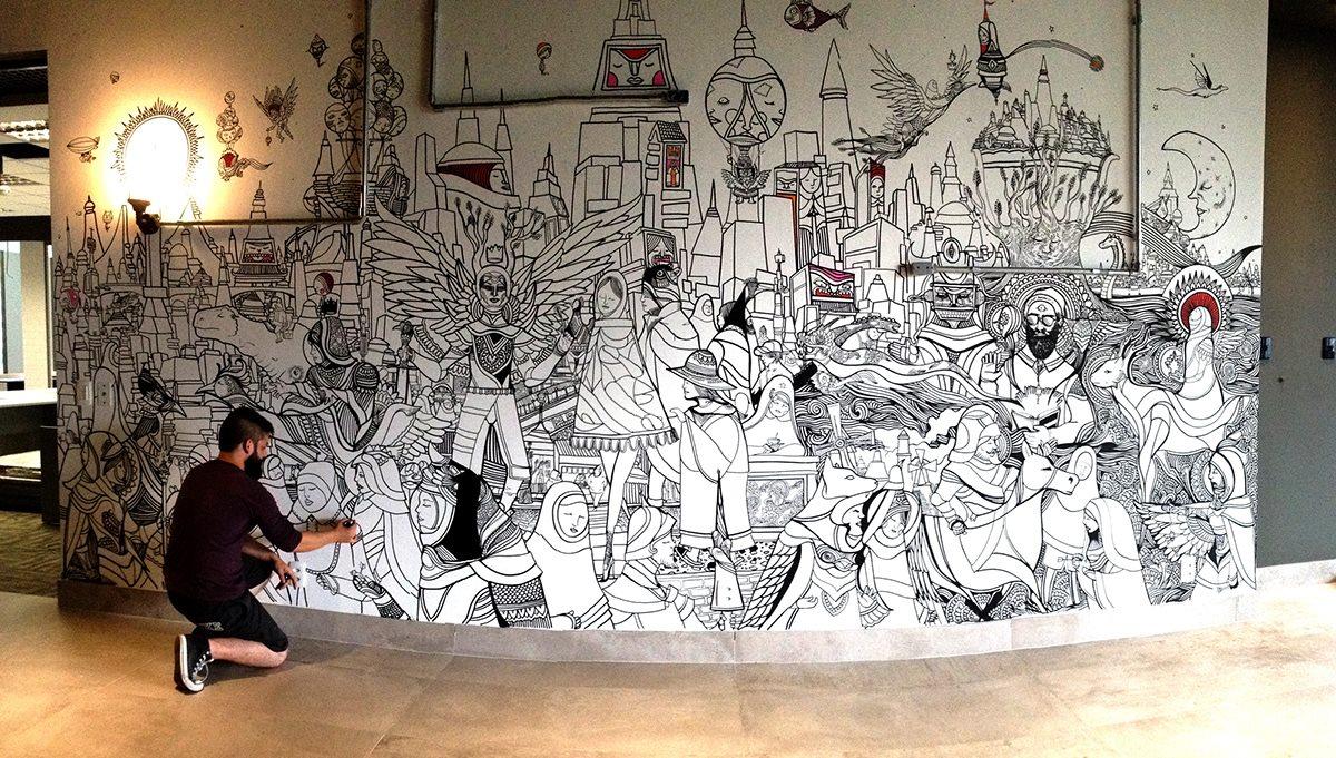 ezekiel-moura-ilustre-z-graffiti-mural-ilustração-preto-e-branco-magia-14
