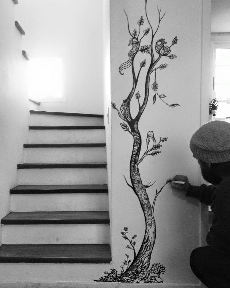 ezekiel-moura-ilustre-z-graffiti-mural-ilustração-preto-e-branco-magia-3