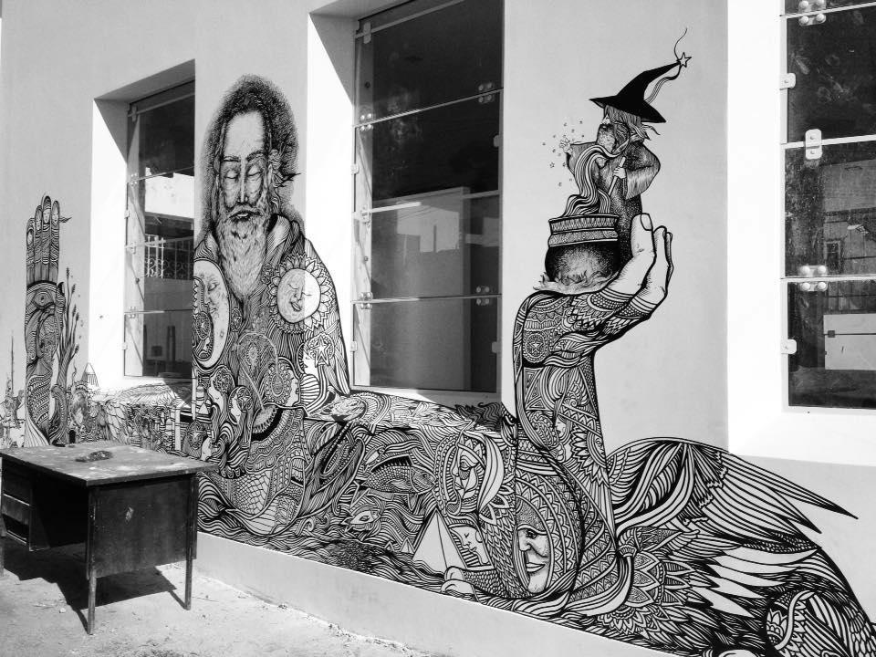 ezekiel-moura-ilustre-z-graffiti-mural-ilustração-preto-e-branco-magia-6