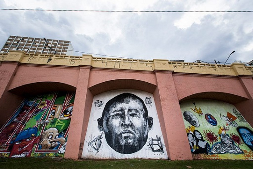 rafael hayashi pintura oleo graffiti hugo chavez sp arco polemica (1)