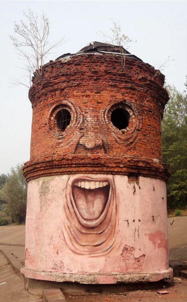 Nikita Nomerz graffiti arte de rua russo faces vida (1)