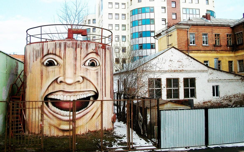 Nikita Nomerz graffiti arte de rua russo faces vida (25)