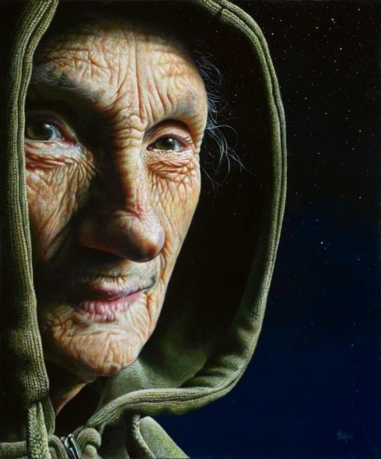 Thijme Termaat i paint video timelapse pintura (1)