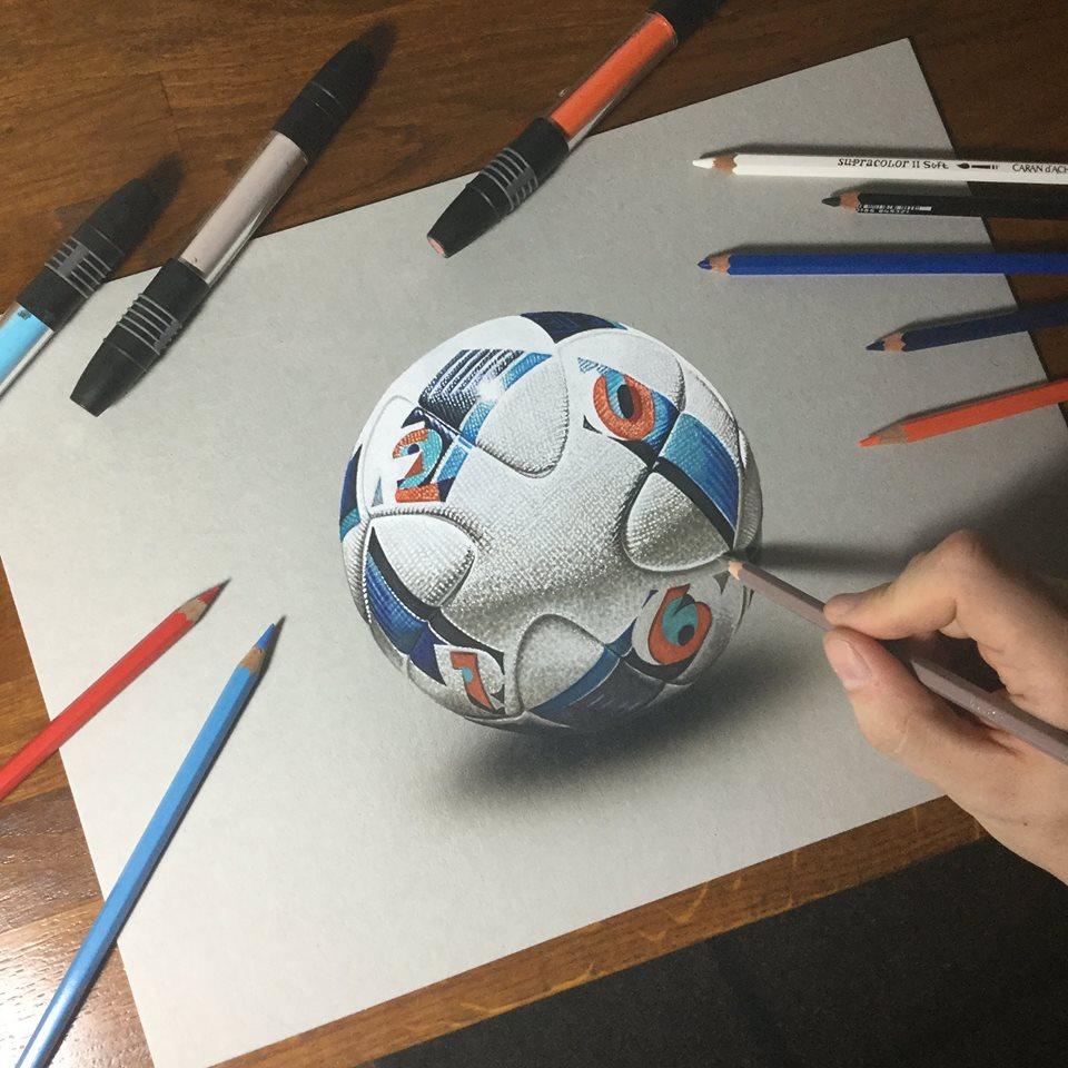 artista marcello Barenghi pintura desenho hiper realismo 3d (10)