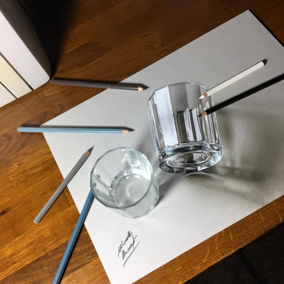 artista marcello Barenghi pintura desenho hiper realismo 3d (15)