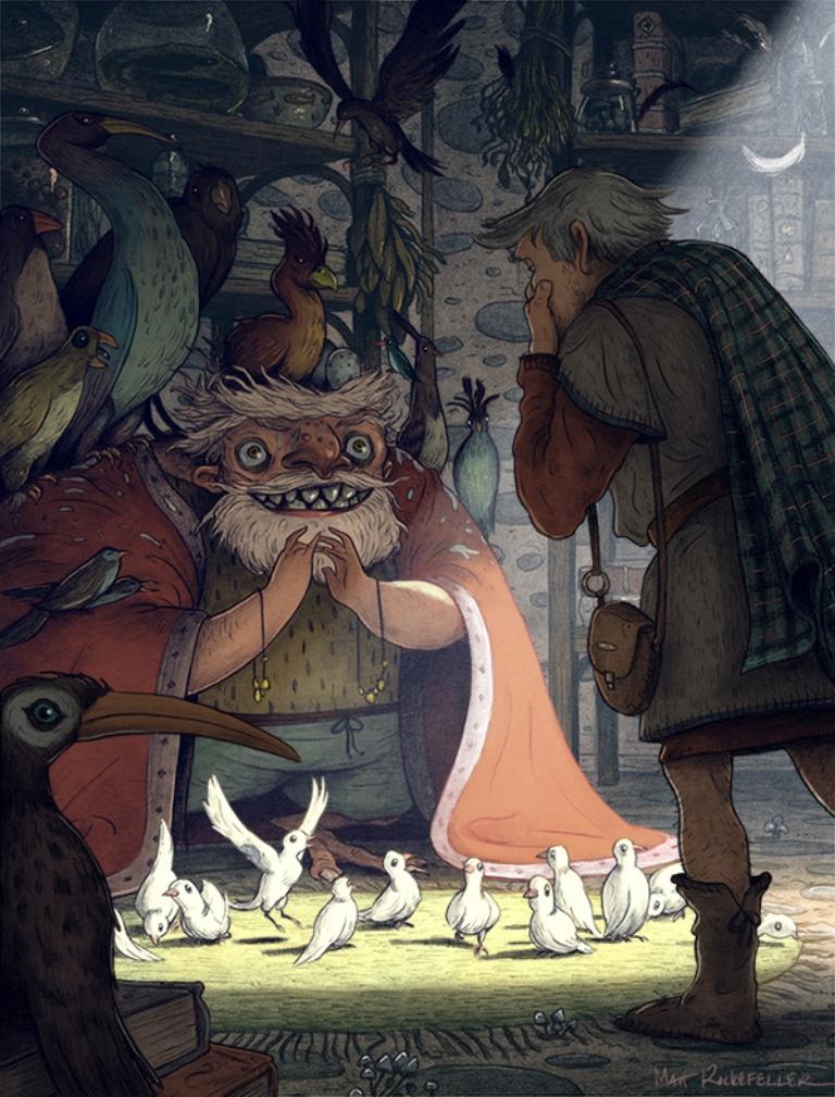 matt-rockefeller-ilustrações-surrealismo-personagens-mundo-imaginario-1