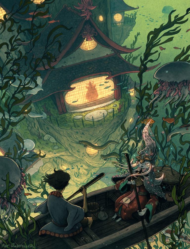 matt-rockefeller-ilustrações-surrealismo-personagens-mundo-imaginario-10