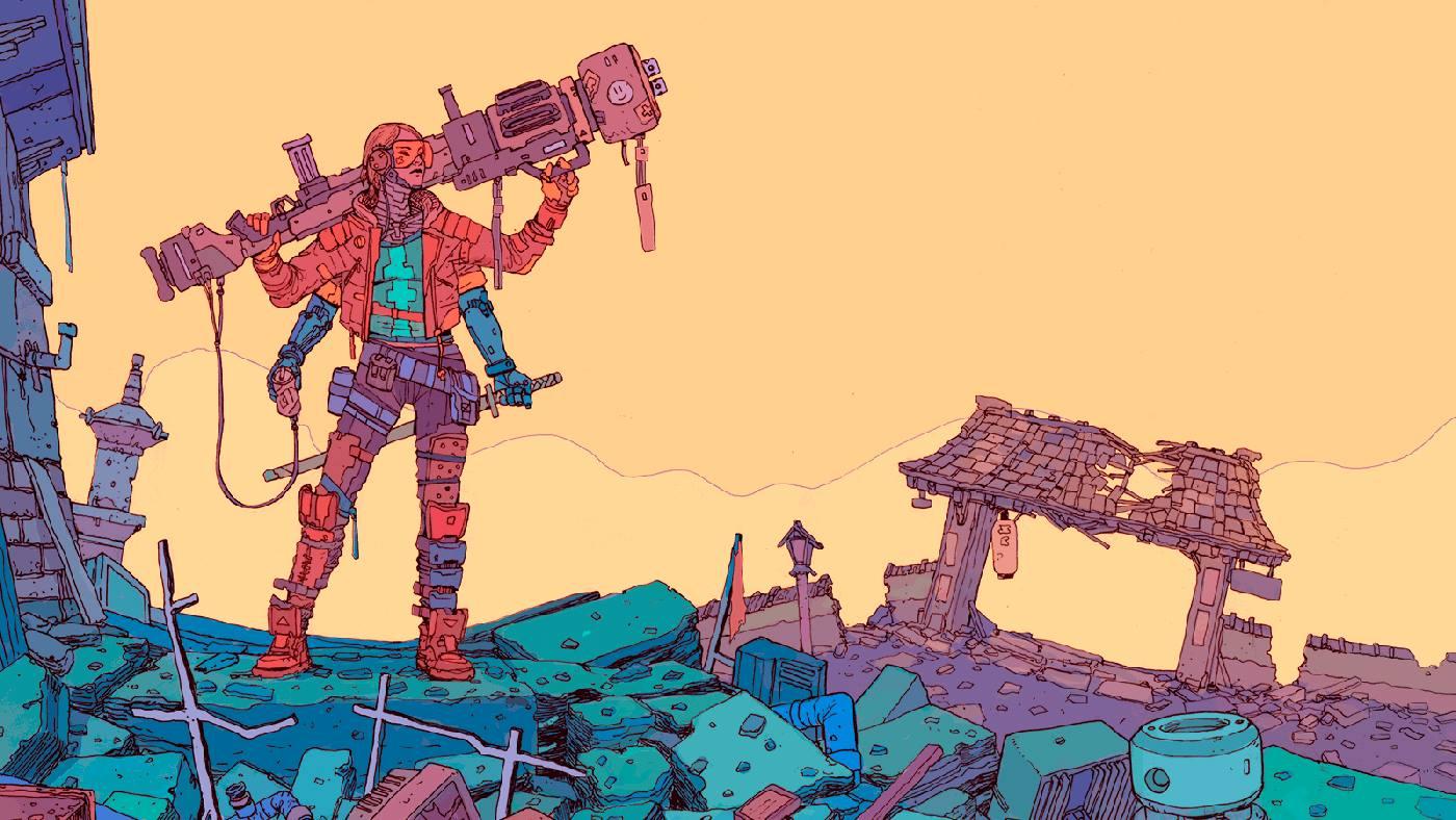SCI Fi Cyberpunk Ilustração 10 - Josan Gonzalez