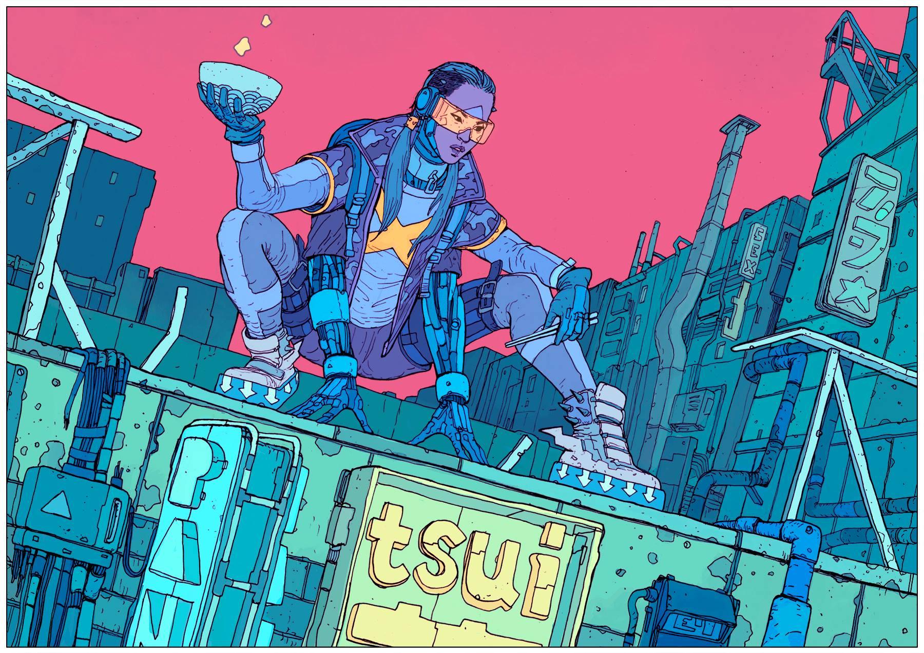 SCI Fi Cyberpunk Ilustração 11 - Josan Gonzalez