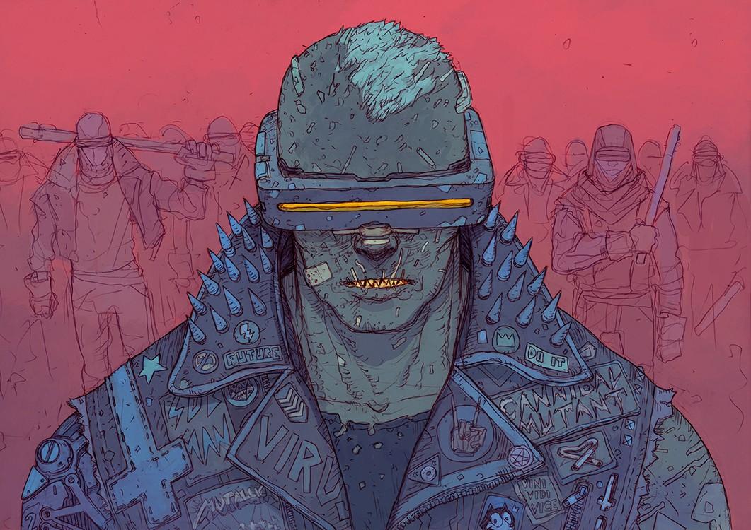 SCI Fi Cyberpunk Ilustração 05 - Josan Gonzalez