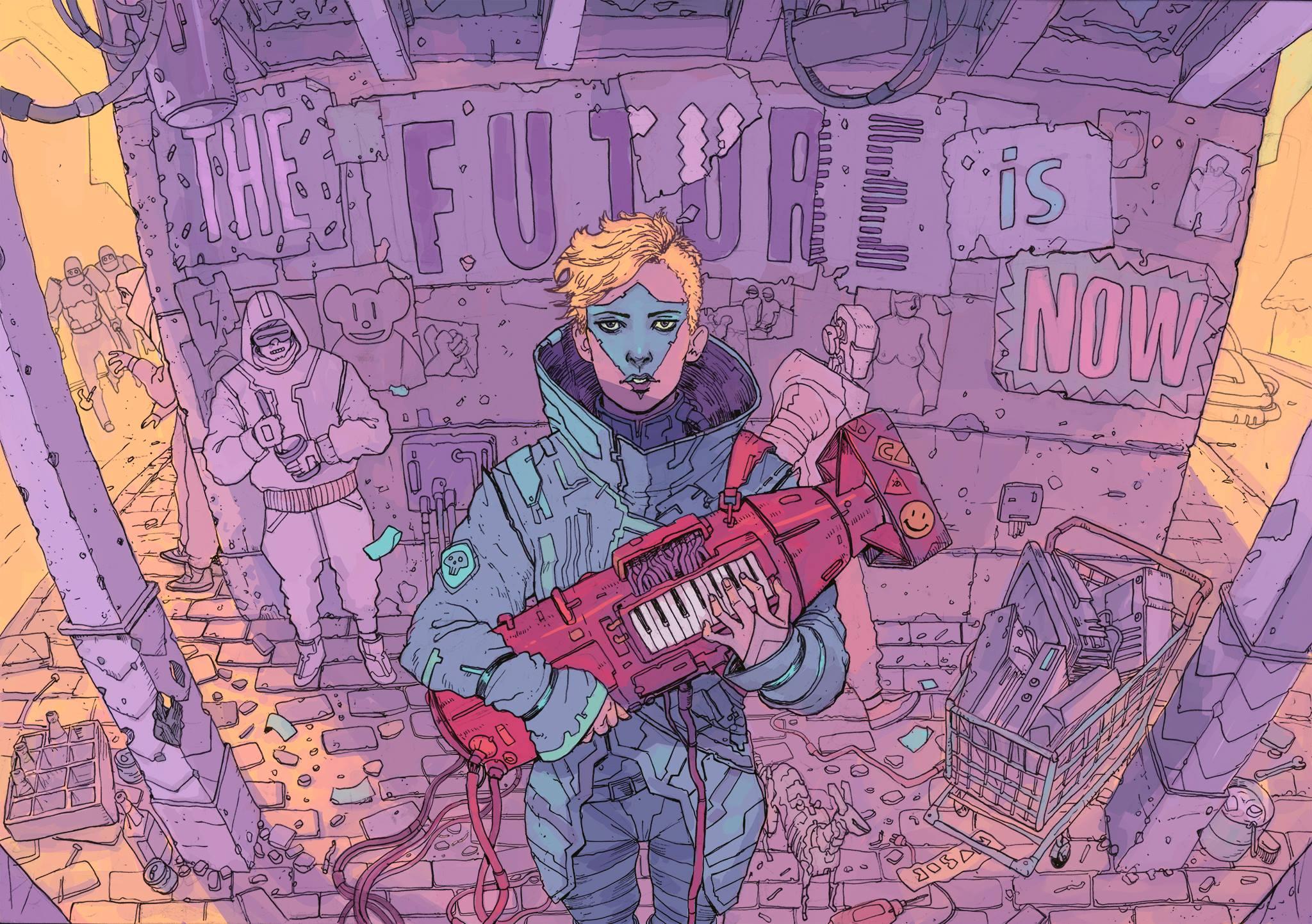 SCI Fi Cyberpunk Ilustração 08 - Josan Gonzalez