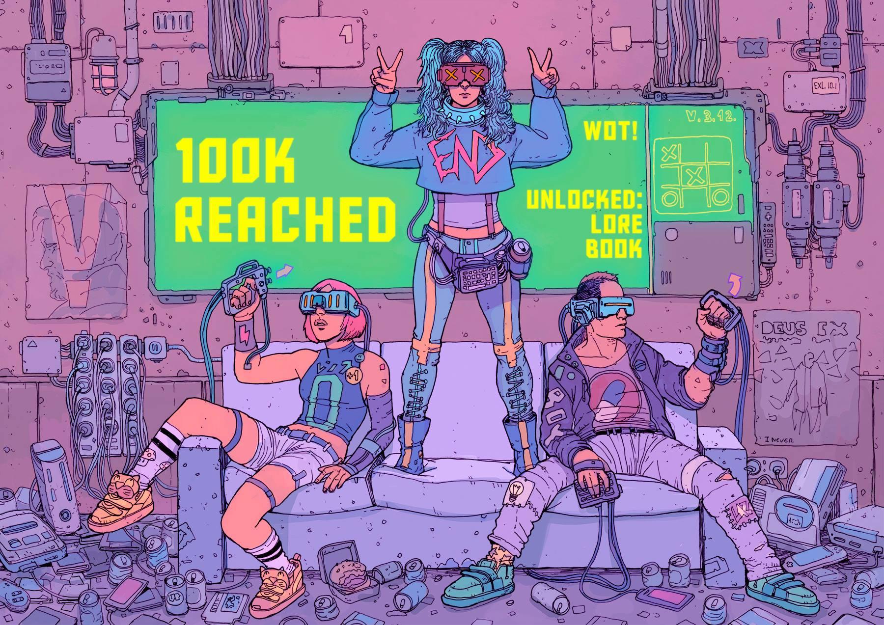 SCI Fi Cyberpunk Ilustração 09 - Josan Gonzalez