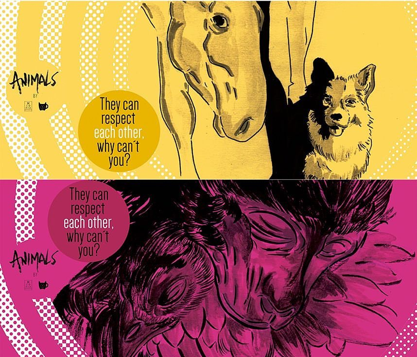 estudio miopia sao jose dos campos ilustracao cartazes poster undergound (7) - Copia