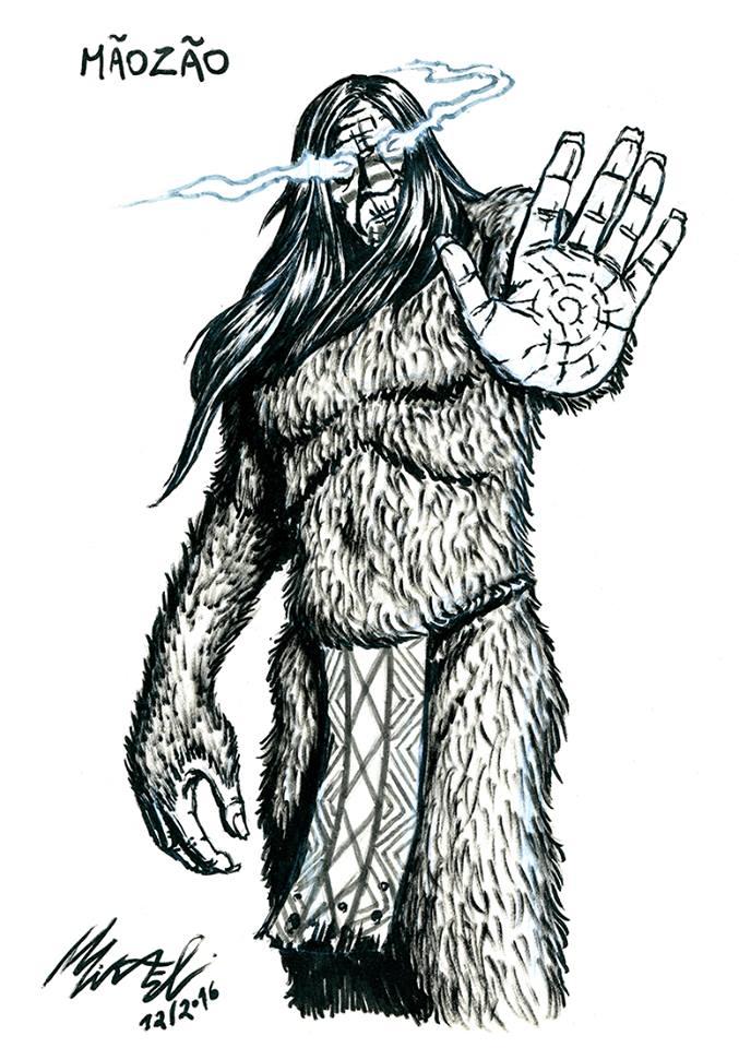 mikael-quites-ilustração-3d-folclore-brasileiro-concept-art-24