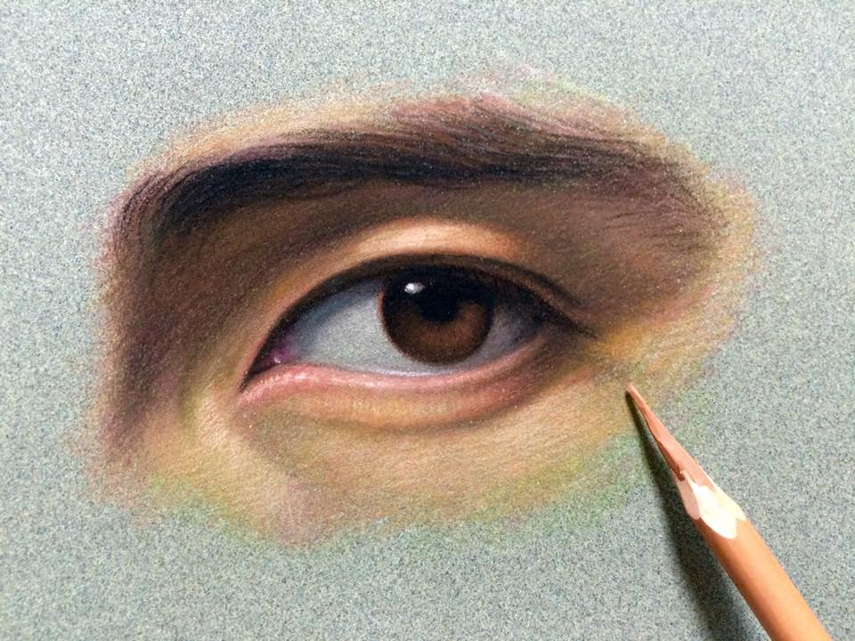 cuong nguyen pintura oleo pastel lapis realismo retrato dionisio arte (13)