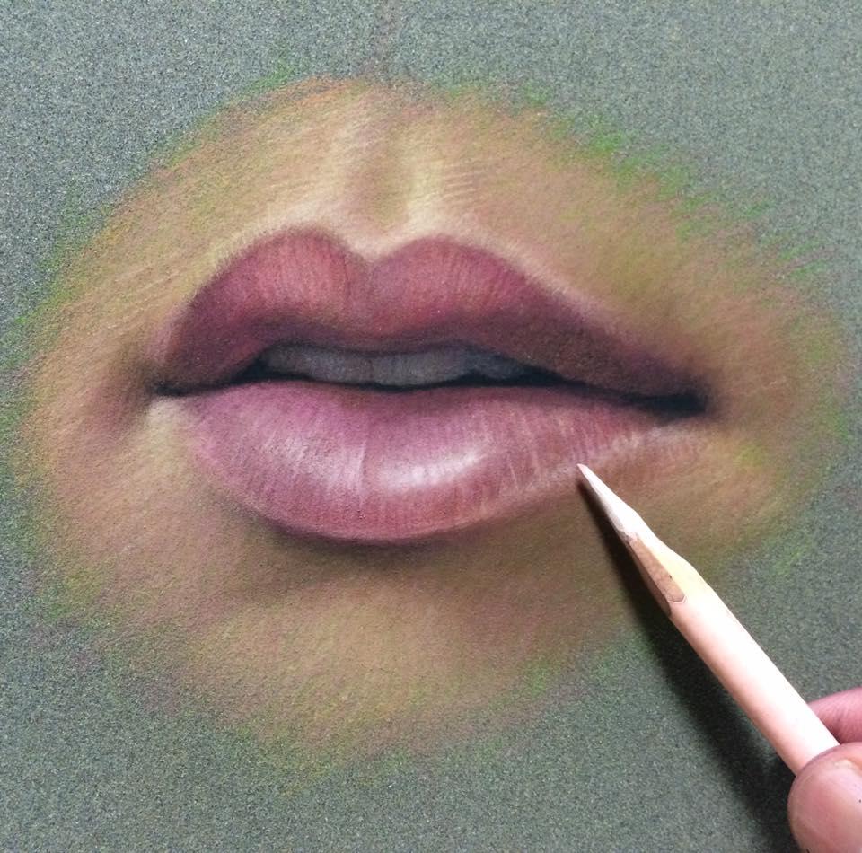 cuong nguyen pintura oleo pastel lapis realismo retrato dionisio arte (17)