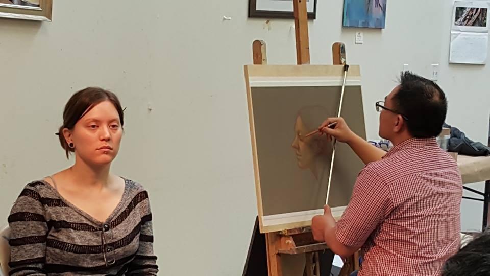 cuong nguyen pintura oleo pastel lapis realismo retrato dionisio arte (2)