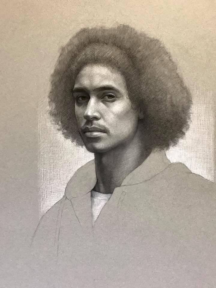 cuong nguyen pintura oleo pastel lapis realismo retrato dionisio arte (23)