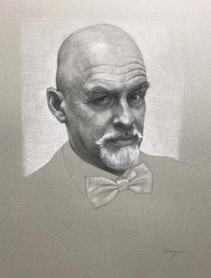 cuong nguyen pintura oleo pastel lapis realismo retrato dionisio arte (26)