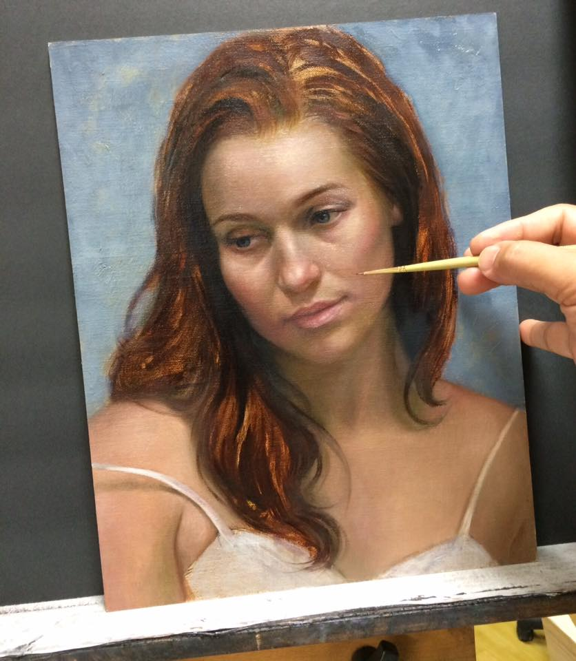 cuong nguyen pintura oleo pastel lapis realismo retrato dionisio arte (7)