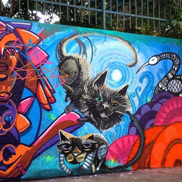 gatuno graffiti pintura escultura tattoo (25)