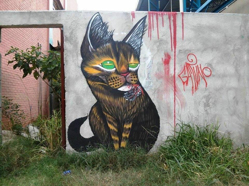 gatuno graffiti pintura escultura tattoo (28)