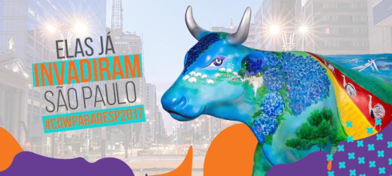 cowparade 2017 sao paulo esculturas vacas
