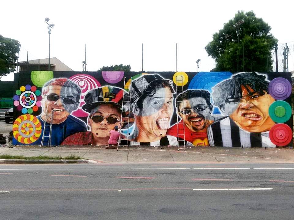paulo terra graffiti realismo mural mamonas assassinas