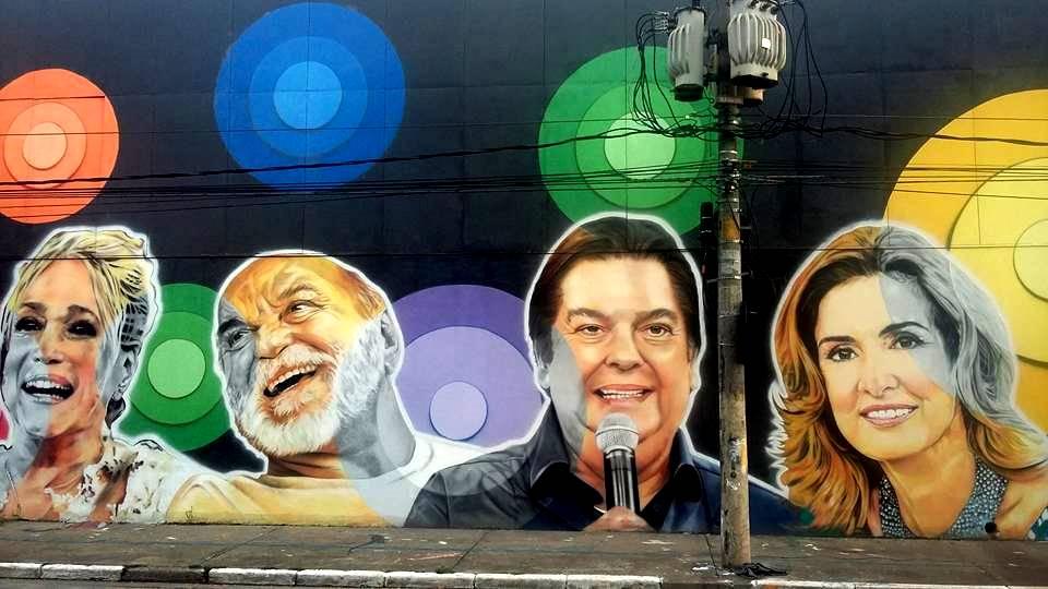 paulo terra graffiti realismo mural rede globo suzana alves lima duarte faustao fatima bernardes