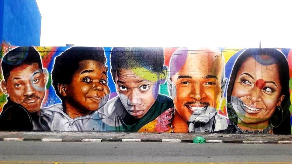 paulo terra graffiti realismo mural will smith series anos 90