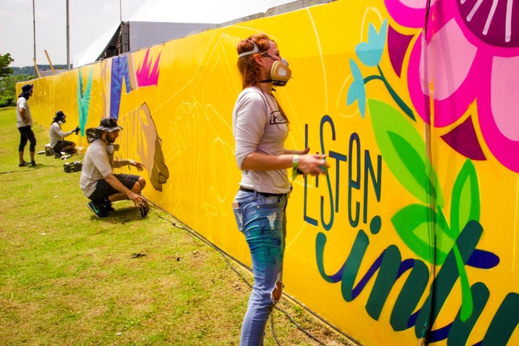 dionisio.ag mural lollapalooza 2018 ronah carraro pardal agatha de faveri dia 1 (9)