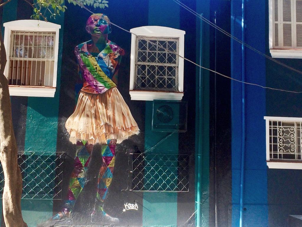 dionisio arte lele gianetti kobra escadaria bailarinas pinheiros sao paulo